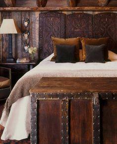 deco design rustique chambres chalet