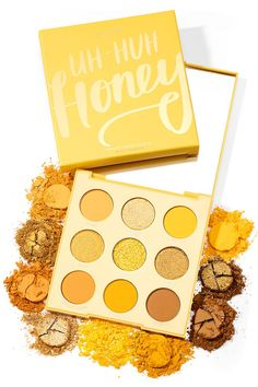 colourpop eyeshadow looks uh huh honey * uh huh honey colourpop looks + uh huh honey colourpop looks step by step + colourpop eyeshadow looks uh huh honey + colourpop uh huh honey palette looks Colourpop Cosmetics, Makeup Cosmetics, Drugstore Makeup, Makeup Brands, Makeup Products, Cute Makeup, Makeup Looks, Yellow Eyeshadow Palette, Colourpop Eyeshadow Palette