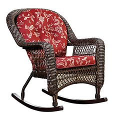 Wilson & Fisher® Savannah Resin Wicker Cushioned Rocker at Big Lots for $69.99 (Clearance)