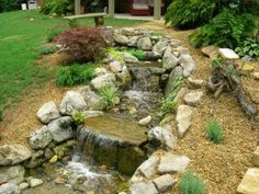 Atlanta Water Landscaping | Water Feature Installation | Pondless streams installation