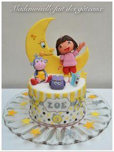 Dora! - Cake by Mademoiselle fait des gâteaux