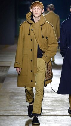 Dries Van Noten #menswear #collection #FW1516 #winter #menafashion #fashion #style #styling #styledotcom #model #models
