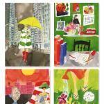 post No.328 Kate Spade Postcards