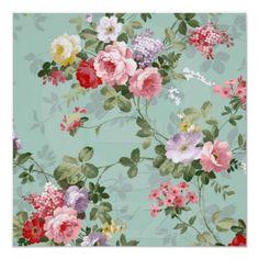 Modelo rosado elegante de los rosas del vintage posters