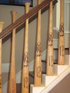 baseball bat rail - good grief....these people are crazier than us!