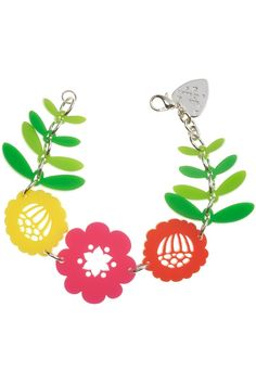 Mexican Embroidery Bracelet from Tatty Devine