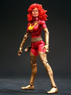 Marvel Legends Series 6 Dark Phoenix // Pinned by: Marvelicious Toys - The Marvel Universe Toy & Collectibles Podcast [ m a r v e l i c i o u s t o y s . c o m ]