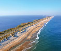 Linked together by ferry crossings, and never rising more than a few feet above sea level, Highway 12 skips along the series of barrier islands that form Cape Hatteras, separating the usually placid waters of Pamlico Sound from the frequently raging Atlantic Ocean. The Dare Trail, North Carolina