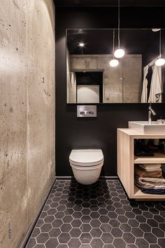 We are here to give you great ideas and to inspire you and that's why we bring you, today, a special selection of Industrial Style: Small Bathroom Designs. Bathroom Photos, Budget Bathroom, Bathroom Renovations, Bathroom Interior, Bathroom Makeovers, Bathroom Safety, Bathroom Toilets, Bad Inspiration, Bathroom Inspiration