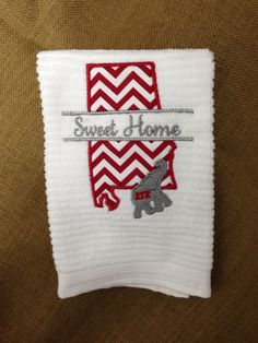 Sweet Home Alabama Kitchen Towel/Alabama/Roll tide on Etsy, $12.00