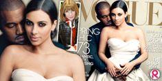 The Devil Wears Kim & Kanye: 'Vogue' Editrix Anna Wintour Caves, Shocks With Kardashian & West Magazine Cover | Radar Online