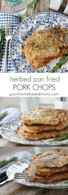 Herbed Pan Fried Por