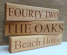 Image result for house name gate signs