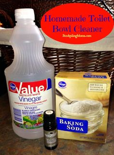 See how to save money and clean with this eco-friendly, homemade toilet bowl cleaner.
