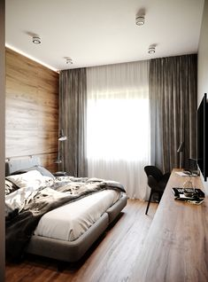 Hotel Bedrooms, Curtains, Home Decor, House, Blinds, Decoration Home, Room Decor, Draping, Home Interior Design