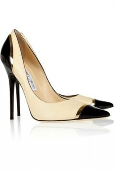 Jimmy Choo. Classic Shoes. Think of all the outfits that would match with these.