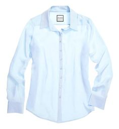 The Signature Shirt in Light Blue