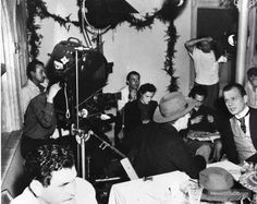 citizen kane behind the scenes | Citizen Kane behind the scenes photo of Joseph Cotten & Everett Sloane