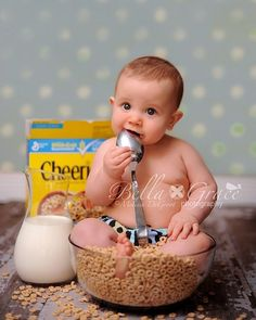 Baby and Cheerios