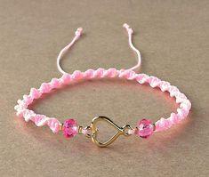Heart Bracelet Valentines Day Bracelet Gold Heart Charm