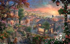 Thomas Kinkade Autopsy | This was painted by the Thomas Kinkade Studios. Since Kinkade's death ...