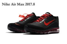 best service 9a0dd 0d7e3 Shop A Wide Selection Of 2018 Nike Air Max 2017 Shoes Red Black Mens Nike  Air