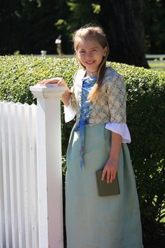 Crafty Mrs. T Abigail Adams costume | Craft Project I have made ...