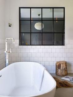 "Anna Truelsen interior stylist: Bathroom ""THE SUIT"" -reportage in Comfortable home Bad Inspiration, Bathroom Inspiration, Interior Inspiration, Bathroom Ideas, Relaxation Room, Interior Stylist, Bathroom Furniture, Furniture Decor, Duravit"