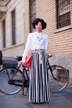 Milan Fashion Week Fall 2012 : Street Style