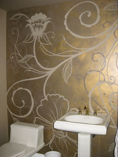 Creative bling in a small space.
