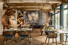 HONG KONG: Street Art Meets Fine Dining at Cool New Restaurant Bibo