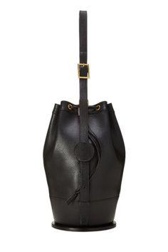 5e12619e351b Hermes Black Epsom Standy Bucket Bag - What Goes Around Comes Around Bucket  Bag
