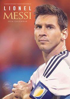 Messi A3 Calendar 2016