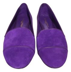 Sergio Rossi Purple Flats. Get the must-have flats of this season! These Sergio Rossi Purple Flats are a top 10 member favorite on Tradesy. Save on yours before they're sold out!