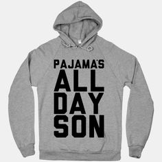 I would love this if it was actually grammatically correct!  PAJAMAS- plural!  Do the pajamas posses something?  I don't think so.  No 's necessary!