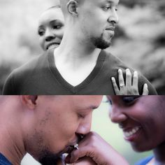Engagement Photos. African American Love Photography