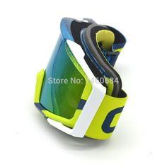Evomosa Motocross Goggles Motorcycle goggles Glasses ATV Color Lens Ski Helmet Googles Off-road for Kawasaki z750 z800 z1000 YZF
