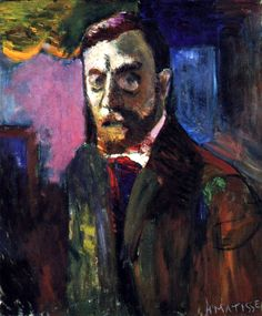 Self-Portrait / Henri Matisse - circa 1900