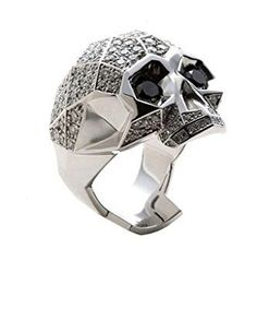 Skull Rings for Men in Silver