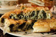 El açması ıspanaklı börek tarifi