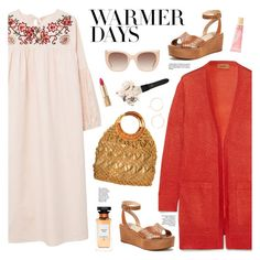 """""""Warmer Days Ahead: Spring Dresses"""" by sproetje ❤ liked on Polyvore featuring MANGO, Missoni, Joie, Givenchy, Alice + Olivia, Chloé, Lano, Dolce&Gabbana, MAC Cosmetics and Bobbi Brown Cosmetics"""