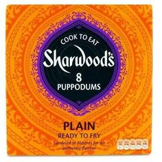 Sharwood Plain Puppodums (12x4oz)