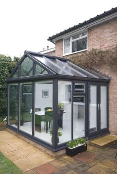 Pergola Connected To House Conservatory Ideas Sunroom, Conservatory Interiors, Lean To Conservatory, Victorian Conservatory, Conservatory Extension, Conservatory Kitchen, Orangery Conservatory, Garden Room Extensions, House Extensions