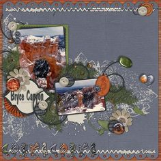 Kit: Southern Utah Beauty from Scraps N Pieces, Temptations Vol. 5 from Wendy Tunison Designs