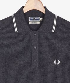 Fred Perry - Textured Knitted Shirt