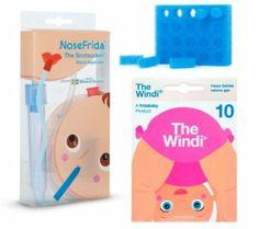 Best selling of 1 NoseFrida Nasal Aspirator, 24 Hygiene Filters, 10 single-use The Windi