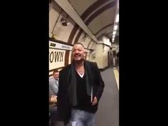 Man leads an entire subway platform in joyous Erasure singalong, earns all of our respect.