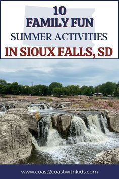 """Sioux Falls offers so much more than """"just"""" the falls- tons of historical sites, outdoor activities, and museums, zoos, aquariums, and more that the whole family will LOVE! Fun Summer Activities, Outdoor Activities, Sioux Falls South Dakota, Road Trip Across America, Family Adventure, Amazing Adventures, Historical Sites, Where To Go, Us Travel"""