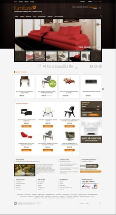 Furnituris PrestaShop Furniture Store Theme