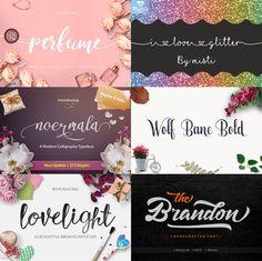 6 stunning fonts ava